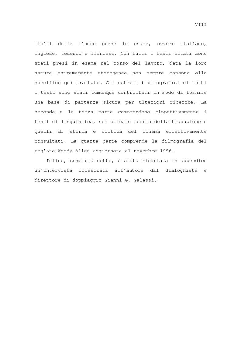 Anteprima della tesi: Il problema della traduzione nel doppiaggio cinematografico in Italia, Pagina 5