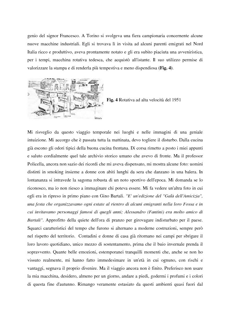 Anteprima della tesi: Un giornale per emigranti: ''La Voce di Fossacesia'', Pagina 12