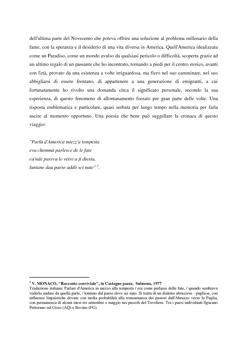 Anteprima della tesi: Un giornale per emigranti: ''La Voce di Fossacesia'', Pagina 14