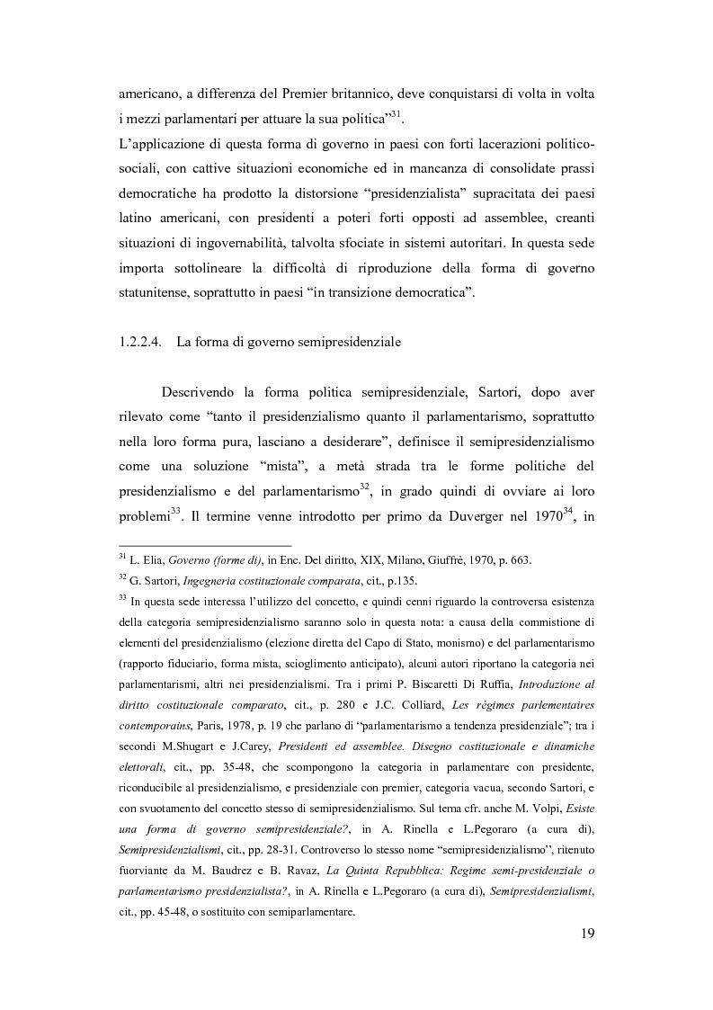 Anteprima della tesi: La Russia di Putin: le riforme nel quadro istituzionale e federalista delineato nella costituzione del 1993, Pagina 14