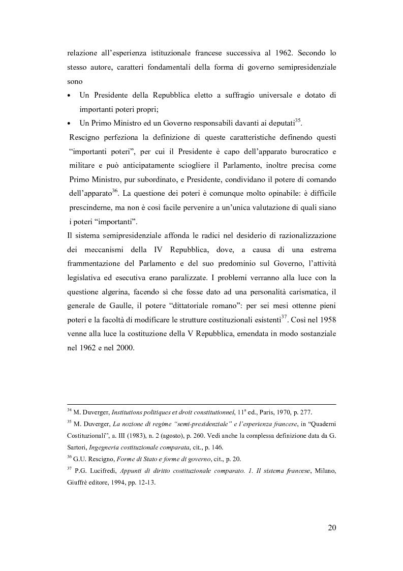 Anteprima della tesi: La Russia di Putin: le riforme nel quadro istituzionale e federalista delineato nella costituzione del 1993, Pagina 15