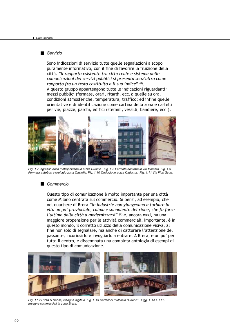 Anteprima della tesi: Comunicare Brera, Pagina 5