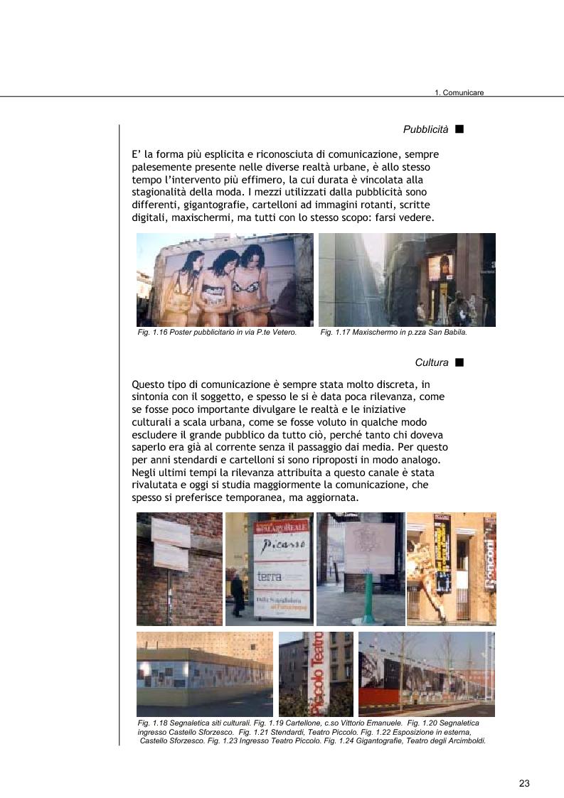 Anteprima della tesi: Comunicare Brera, Pagina 6