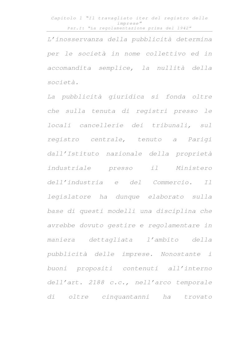 Anteprima della tesi: Il registro delle imprese, Pagina 10