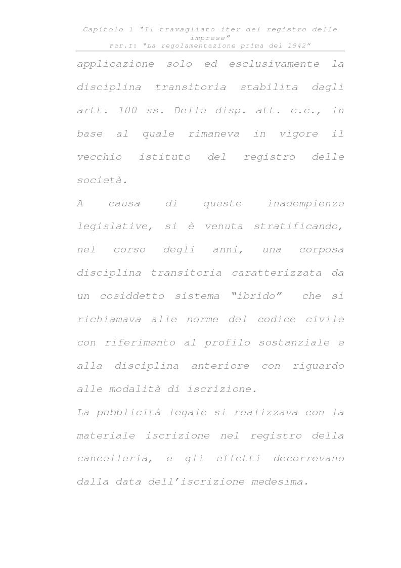 Anteprima della tesi: Il registro delle imprese, Pagina 11