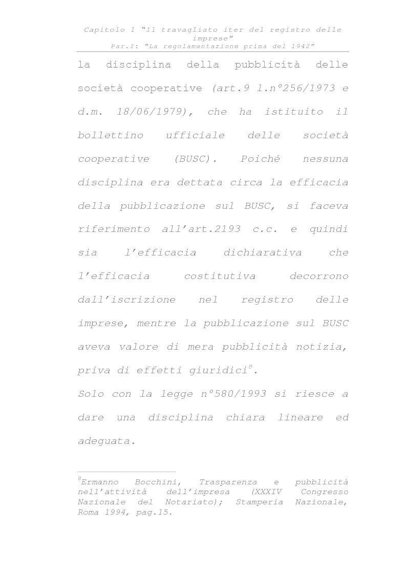 Anteprima della tesi: Il registro delle imprese, Pagina 14
