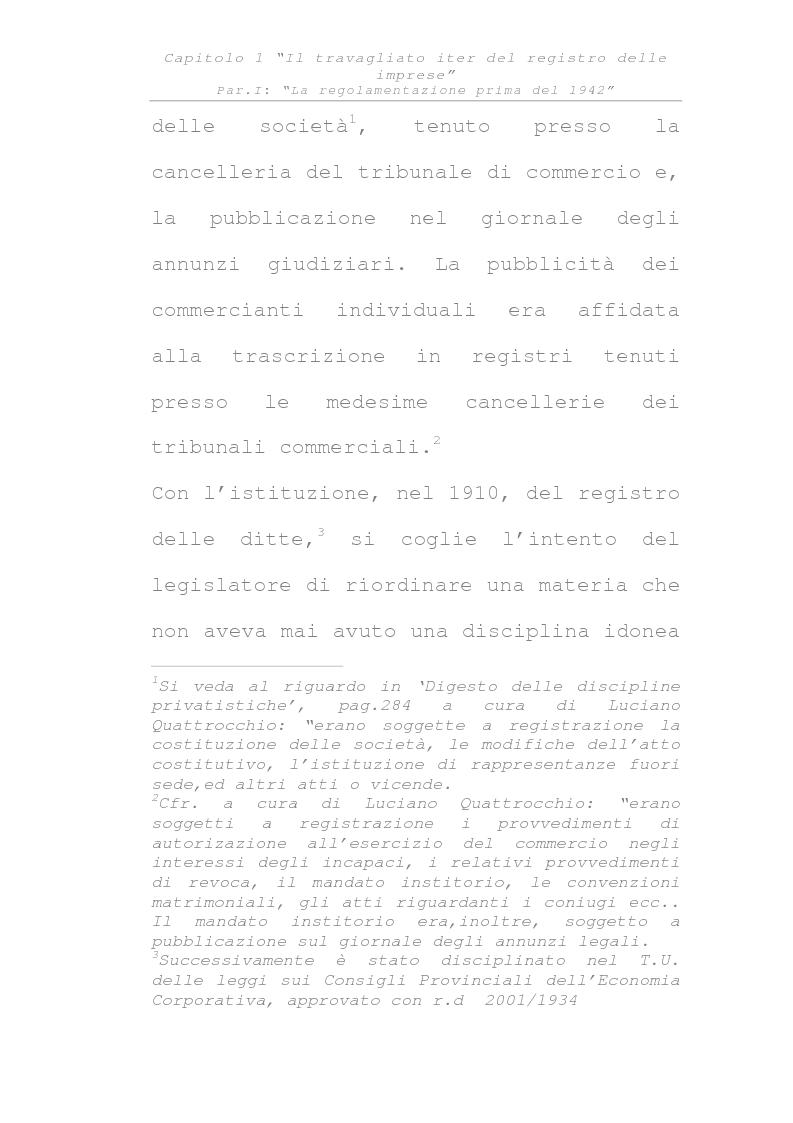 Anteprima della tesi: Il registro delle imprese, Pagina 2