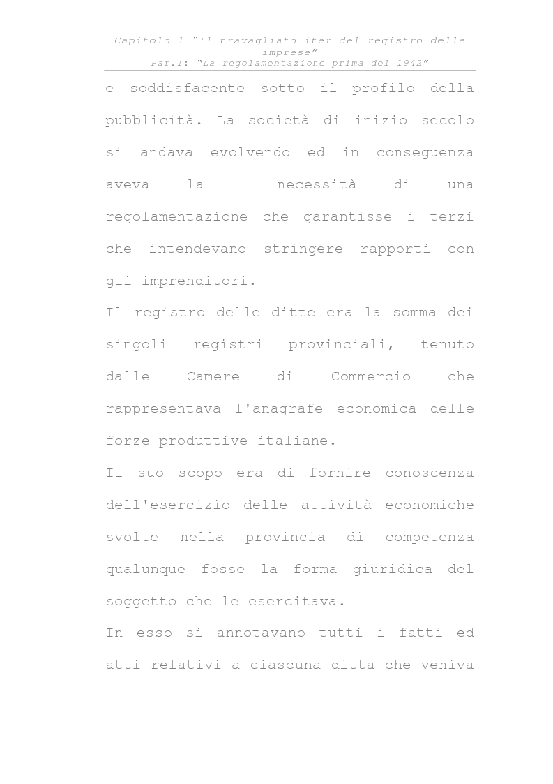 Anteprima della tesi: Il registro delle imprese, Pagina 3