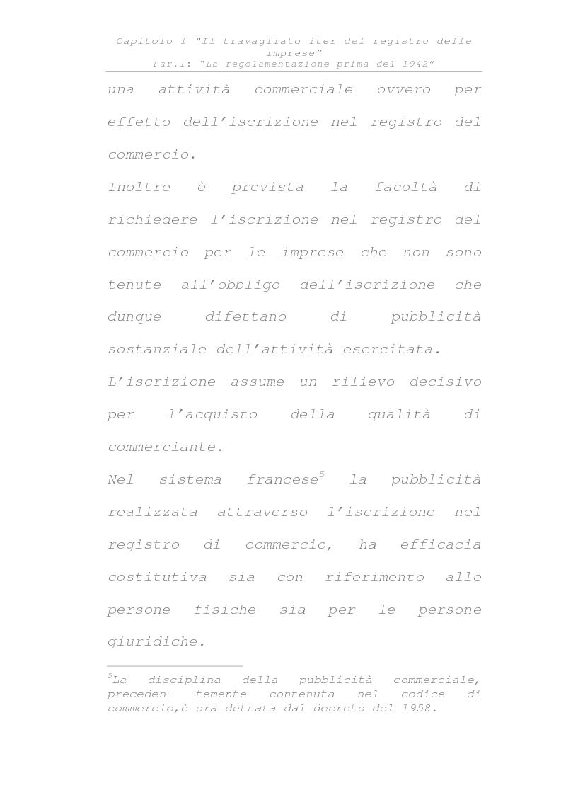 Anteprima della tesi: Il registro delle imprese, Pagina 9