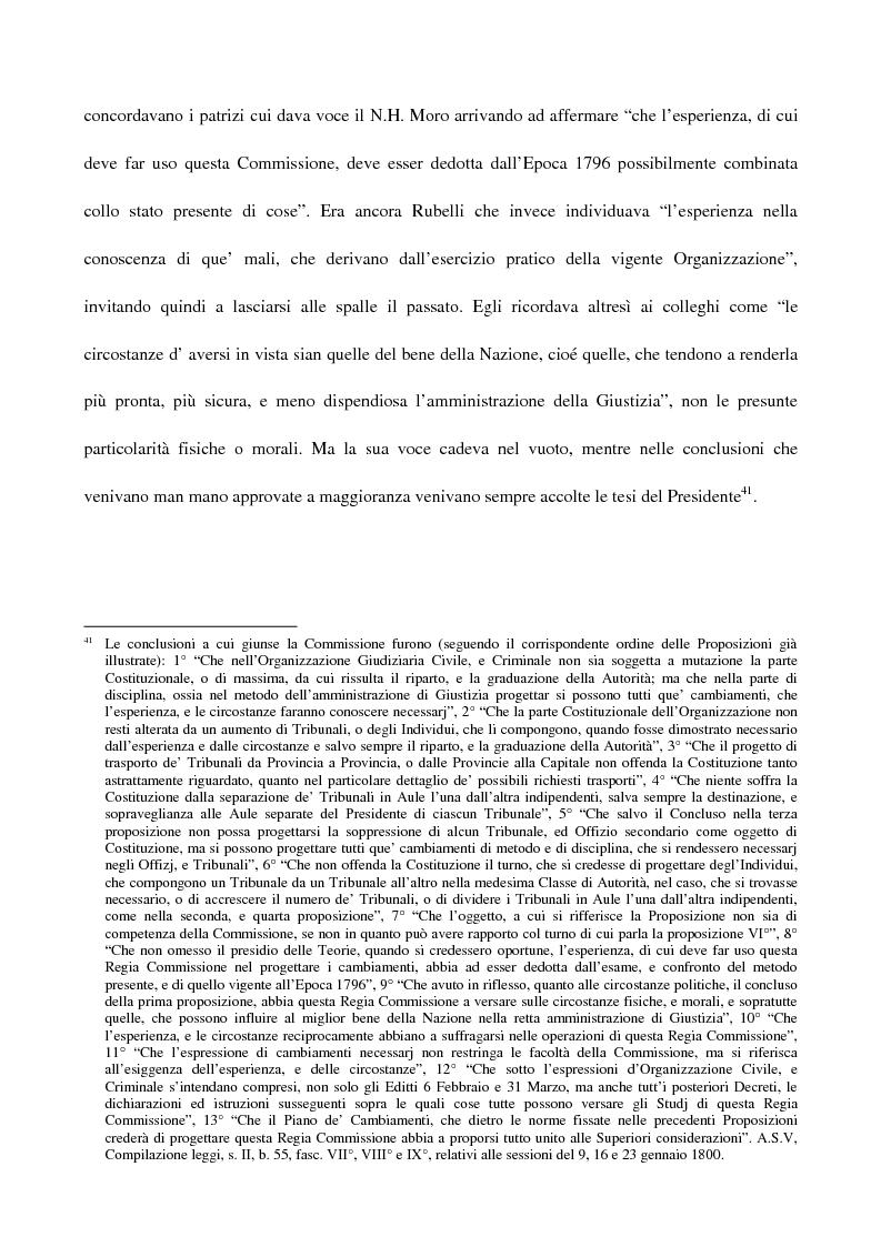 Anteprima della tesi: L'amministrazione della giustizia alla caduta della Repubblica di Venezia. Problematiche in una fase di transizione (1797-1806), Pagina 15
