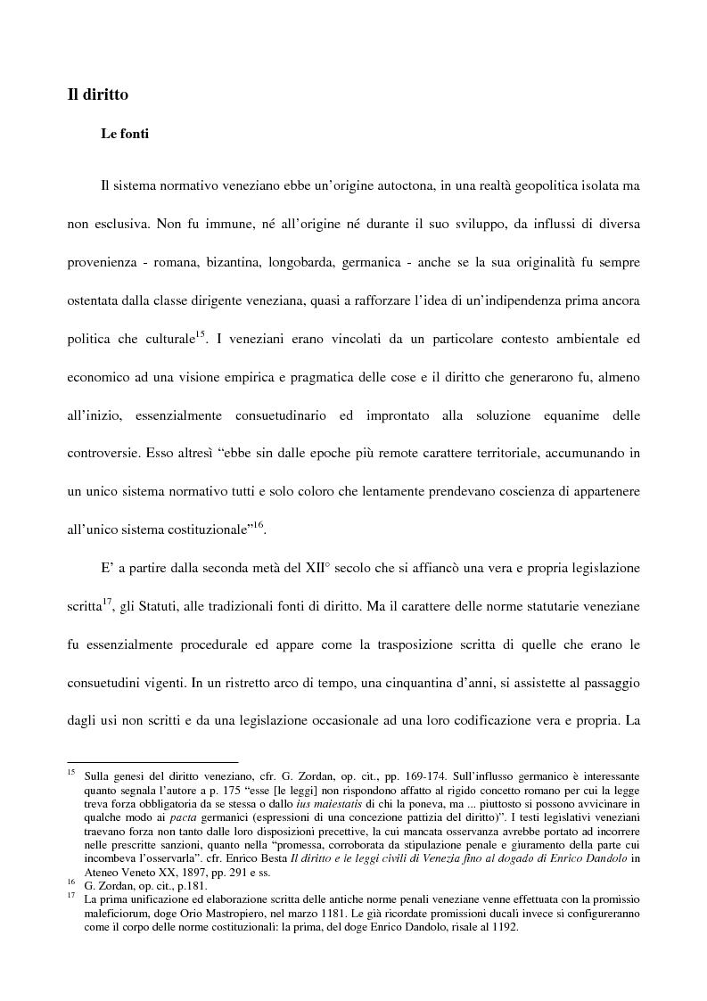 Anteprima della tesi: L'amministrazione della giustizia alla caduta della Repubblica di Venezia. Problematiche in una fase di transizione (1797-1806), Pagina 5