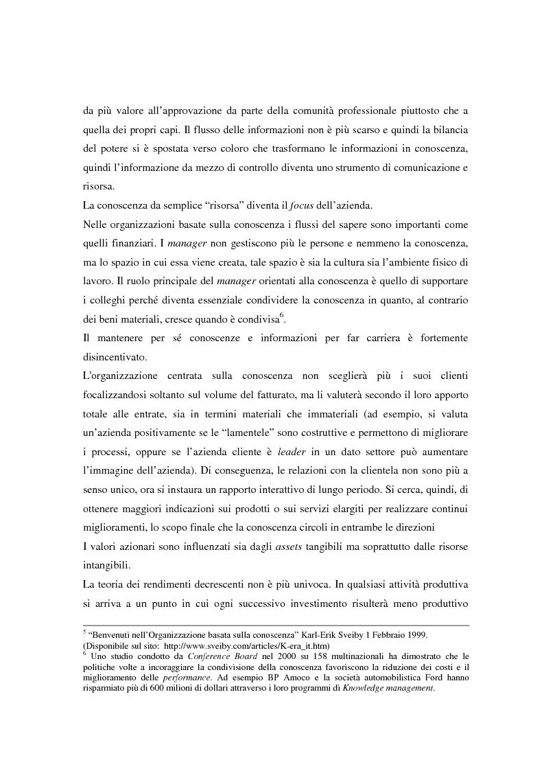 Anteprima della tesi: Metodologie di misurazione ''a punteggio'' per la valutazione del capitale intellettuale, Pagina 14
