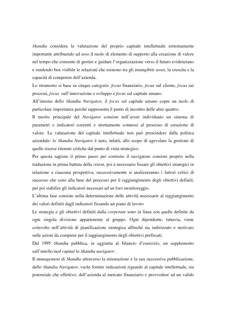 Anteprima della tesi: Metodologie di misurazione ''a punteggio'' per la valutazione del capitale intellettuale, Pagina 6