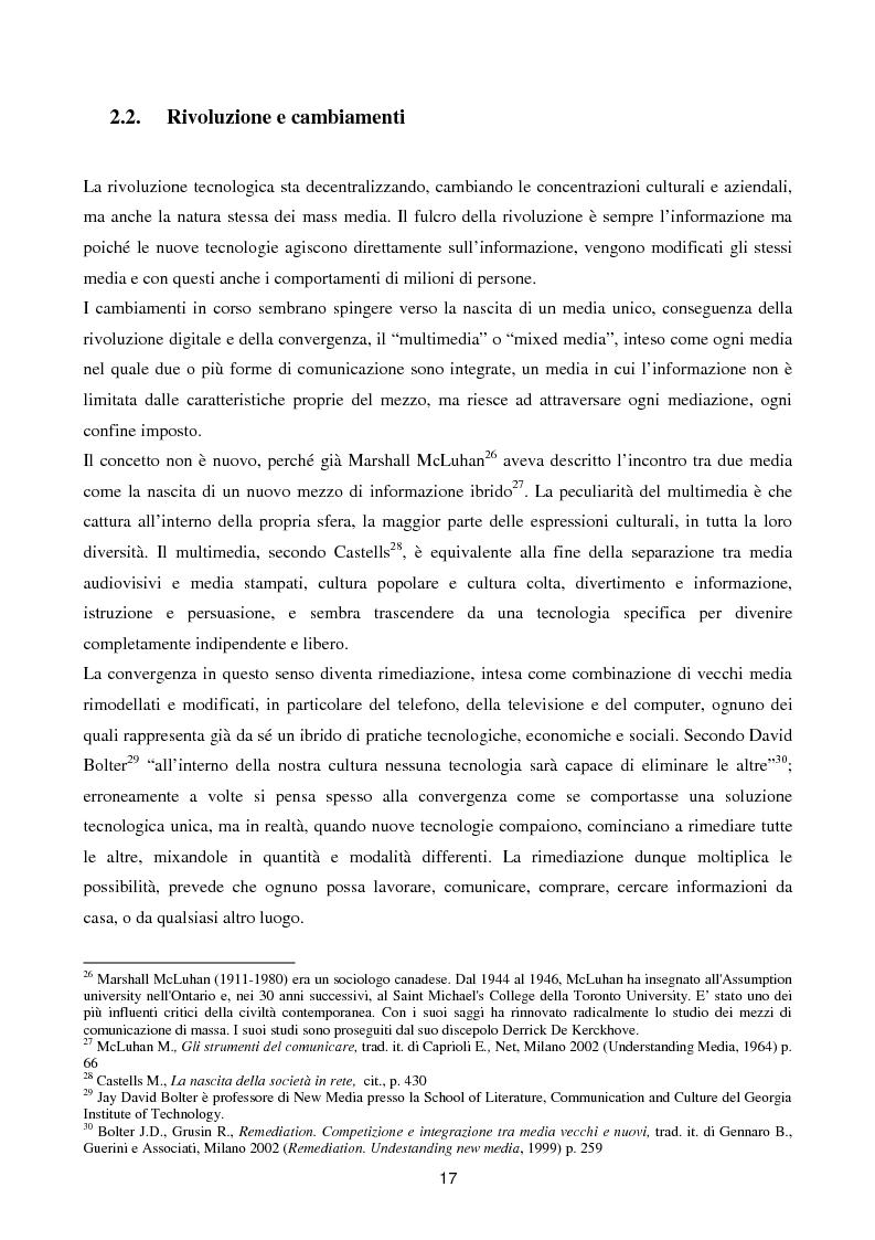 Anteprima della tesi: Internet senza fili, Pagina 14