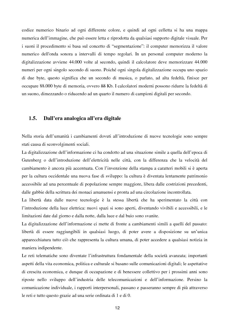 Anteprima della tesi: Internet senza fili, Pagina 9