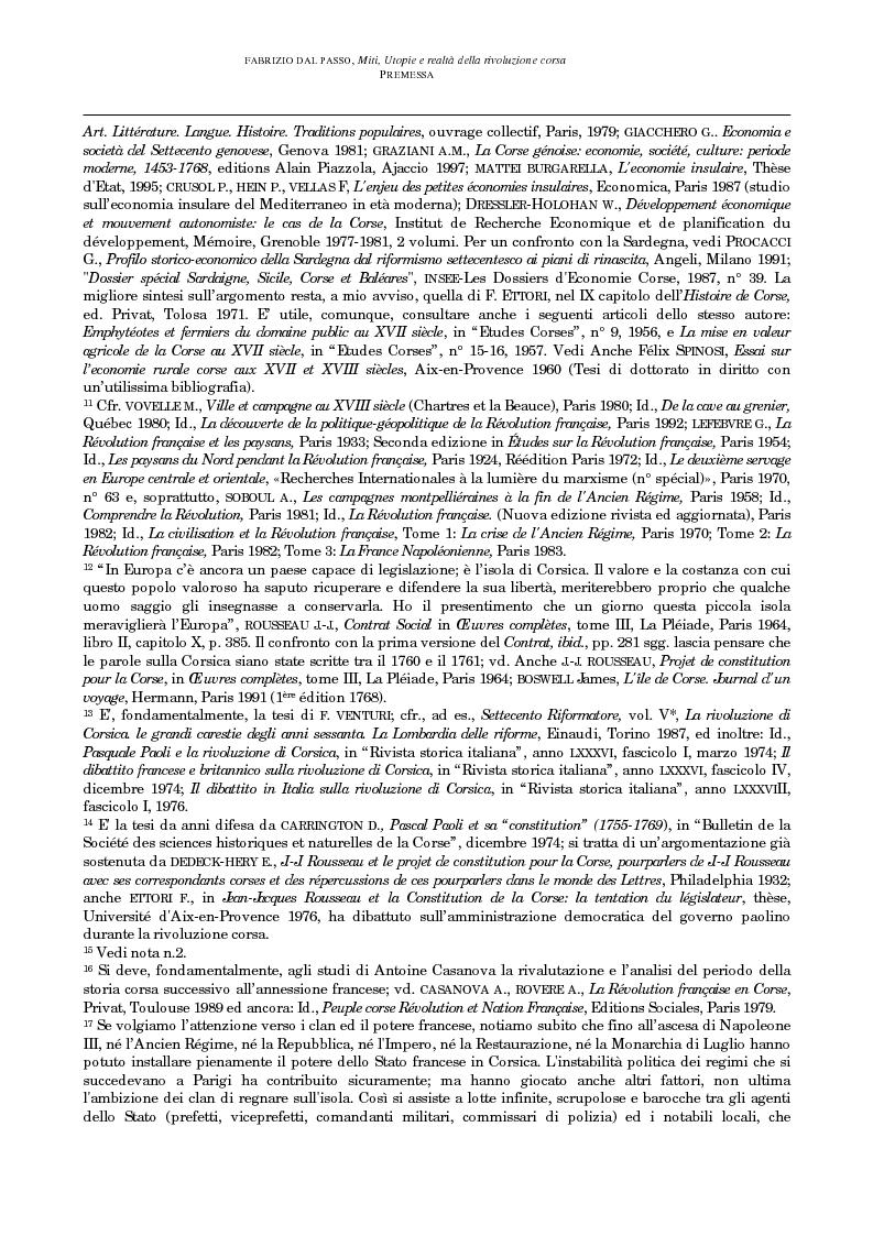 Anteprima della tesi: Miti, utopie e realtà della rivoluzione corsa (1729-1769), Pagina 10