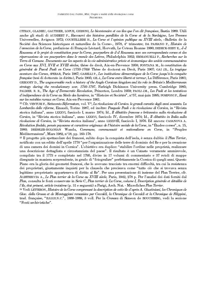 Anteprima della tesi: Miti, utopie e realtà della rivoluzione corsa (1729-1769), Pagina 12