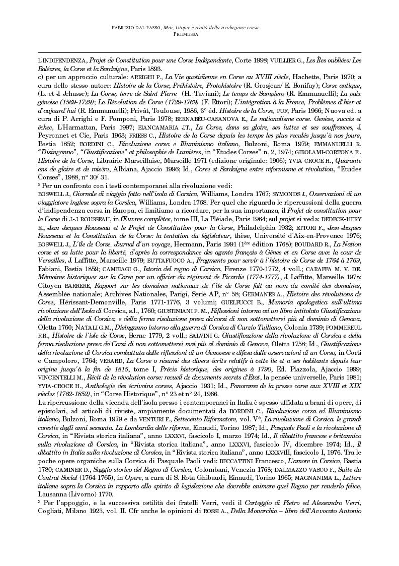 Anteprima della tesi: Miti, utopie e realtà della rivoluzione corsa (1729-1769), Pagina 7