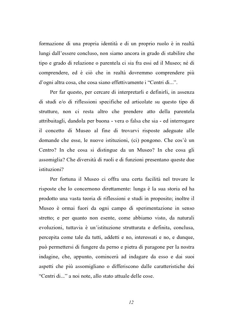 Anteprima della tesi: Dal museo al centro di cultura: l'esperienza del Centre de Cultura Contemporània de Barcelona, Pagina 10