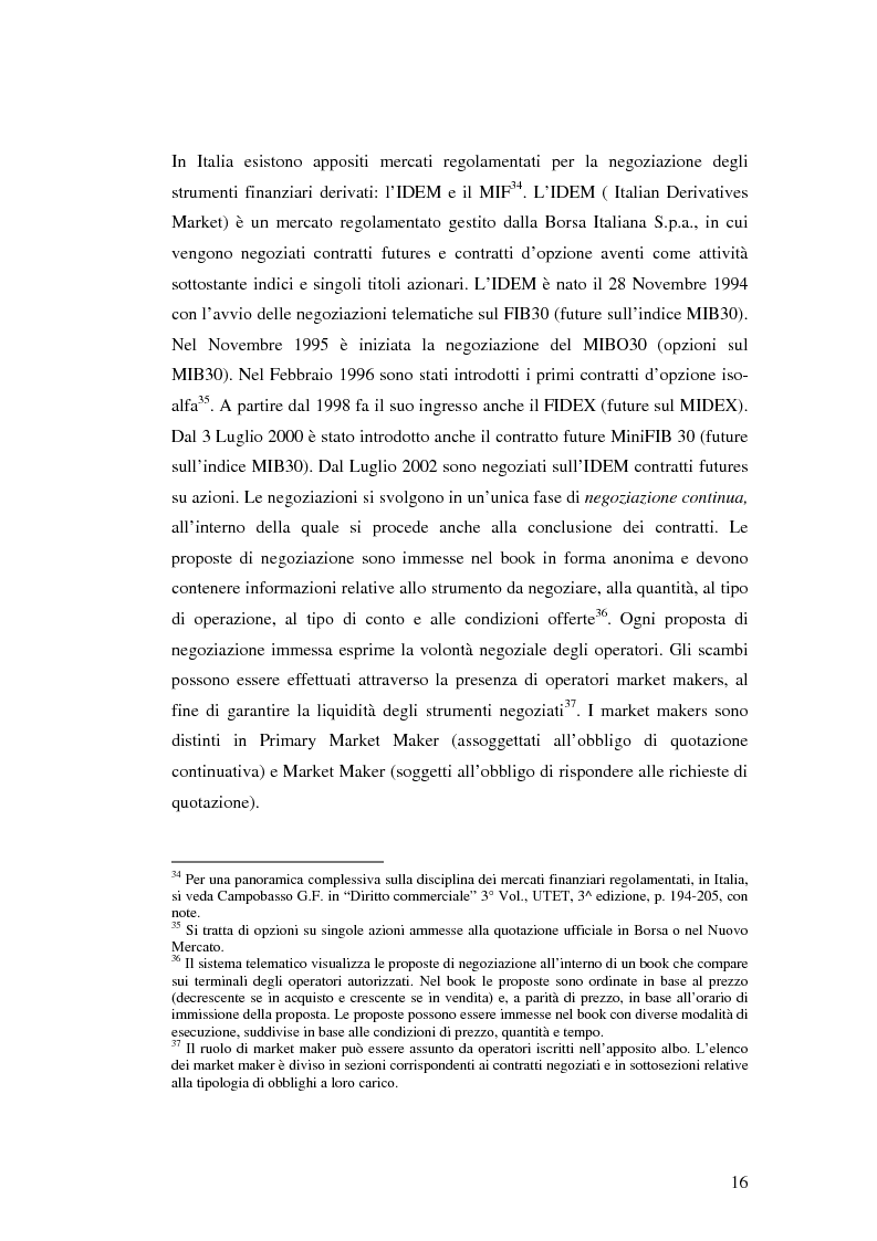 Anteprima della tesi: La disciplina giuridica dei contratti swaps, Pagina 14