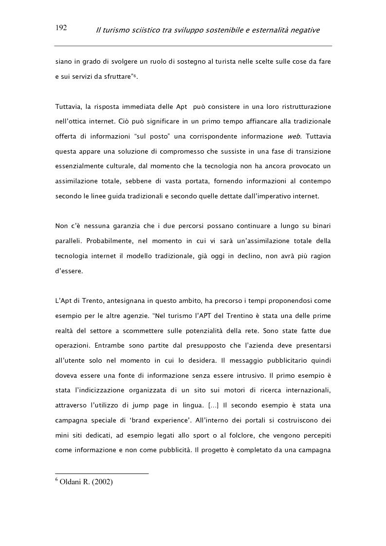 Anteprima della tesi: Il turismo sciistico tra sviluppo sostenibile e esternalità negative, Pagina 12