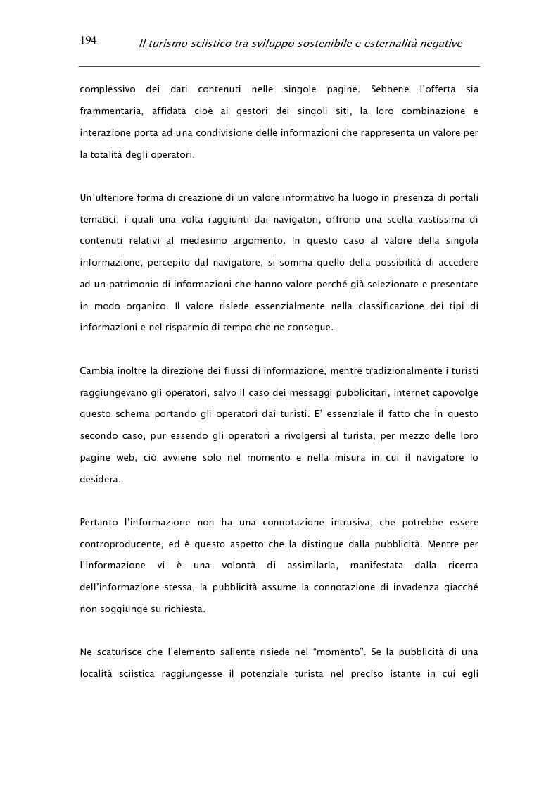 Anteprima della tesi: Il turismo sciistico tra sviluppo sostenibile e esternalità negative, Pagina 14