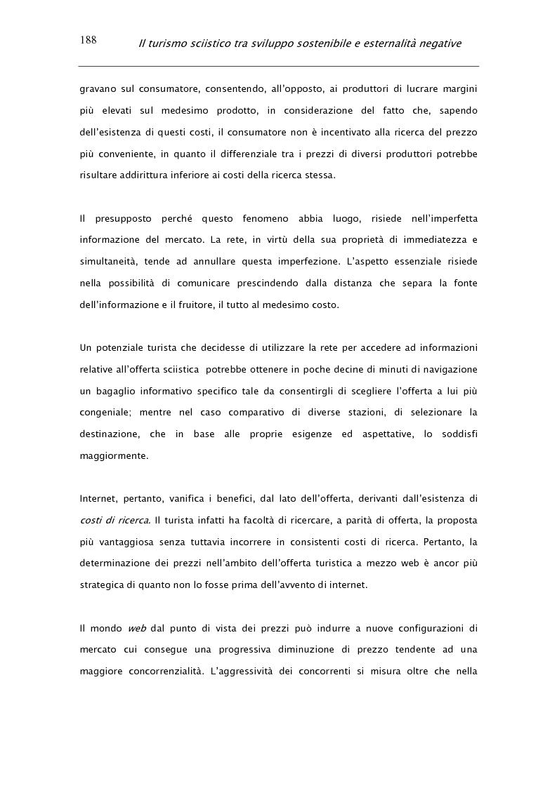 Anteprima della tesi: Il turismo sciistico tra sviluppo sostenibile e esternalità negative, Pagina 8