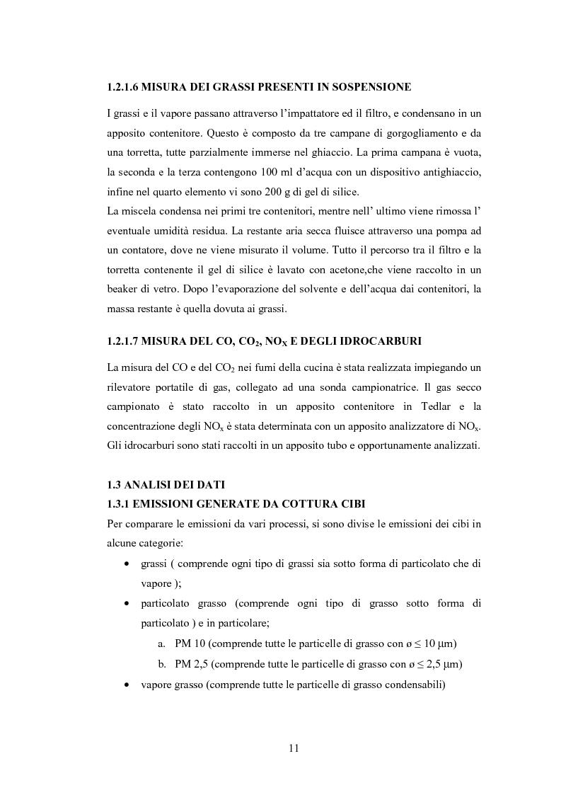 Anteprima della tesi: Abbattimento degli odori nelle cucine industriali, Pagina 11