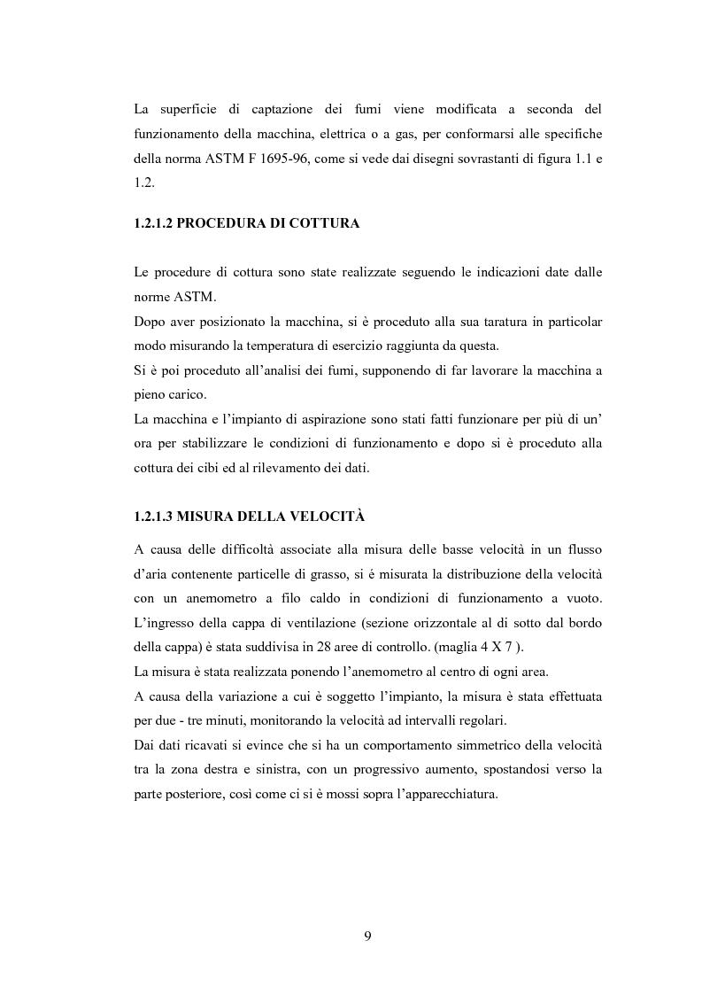 Anteprima della tesi: Abbattimento degli odori nelle cucine industriali, Pagina 9