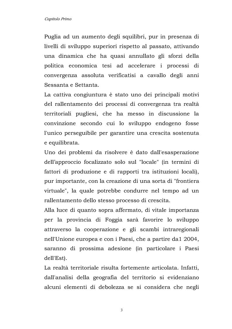 Anteprima della tesi: Dinamiche patrimoniali, finanziarie ed economiche nelle imprese della capitanata, Pagina 4
