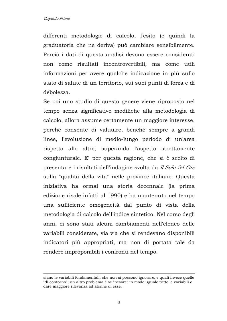 Anteprima della tesi: Dinamiche patrimoniali, finanziarie ed economiche nelle imprese della capitanata, Pagina 6