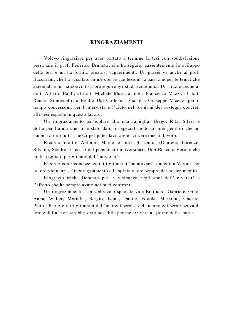 Anteprima della tesi: La successione imprenditoriale e lo sviluppo di conoscenza nell'impresa familiare, Pagina 4