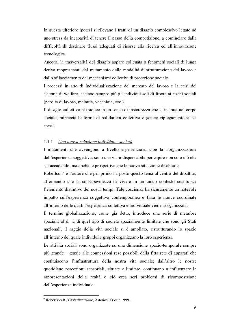 Anteprima della tesi: Il lavoro sociale di strada tra devianze e forme di controllo: il ruolo dell'educatore, Pagina 14