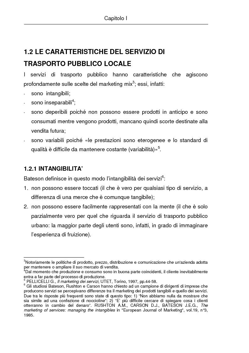 Anteprima della tesi: La comunicazione istituzionale e la gestione delle relazioni esterne nelle aziende pubbliche di trasporto. Il caso ''Brescia Trasporti'', Pagina 11