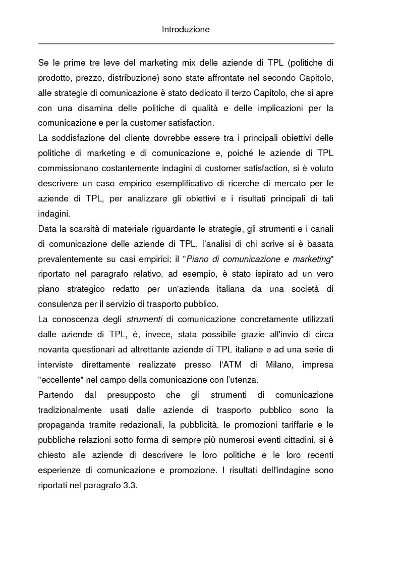 Anteprima della tesi: La comunicazione istituzionale e la gestione delle relazioni esterne nelle aziende pubbliche di trasporto. Il caso ''Brescia Trasporti'', Pagina 4