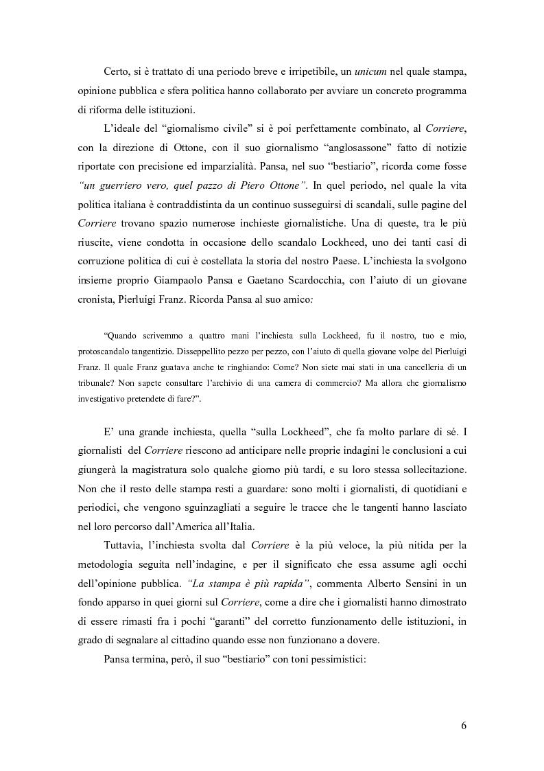 Anteprima della tesi: Il giornalismo investigativo in Italia: il caso Lockheed, Pagina 2