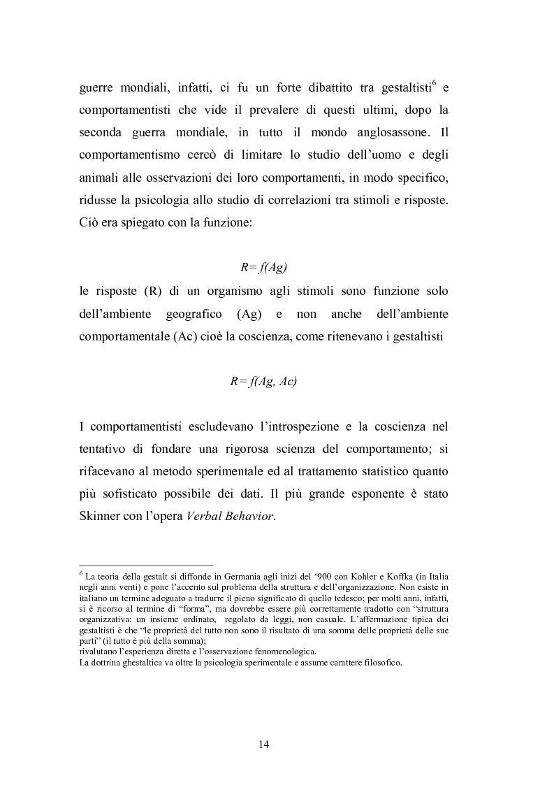 Anteprima della tesi: I complessi processi decisionali e i riflessi sul comportamento del consumatore nel contesto di marketing, Pagina 10