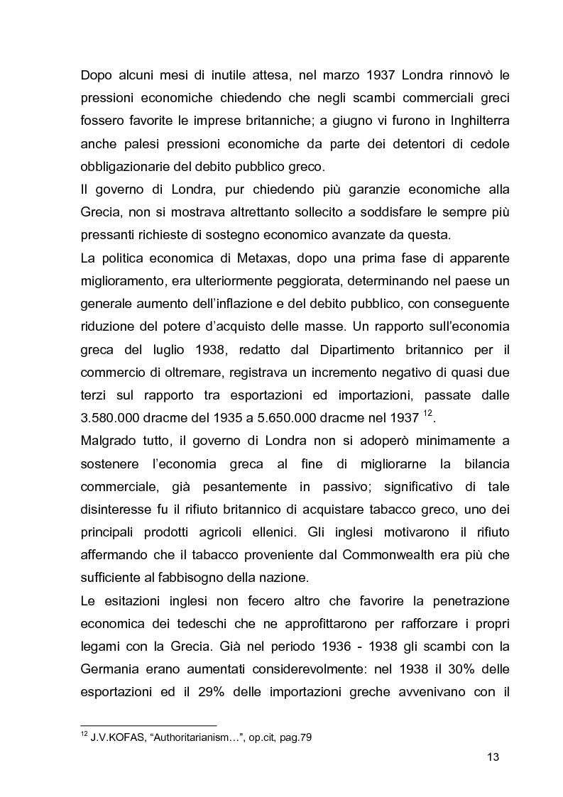 Anteprima della tesi: La guerra civile in Grecia, il declino della potenza britannica e l'affermarsi dell'egemonia americana sull'Europa Occidentale, Pagina 13