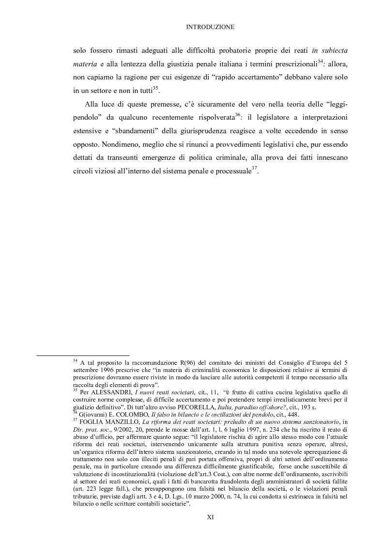 Anteprima della tesi: Il falso in bilancio, Pagina 11