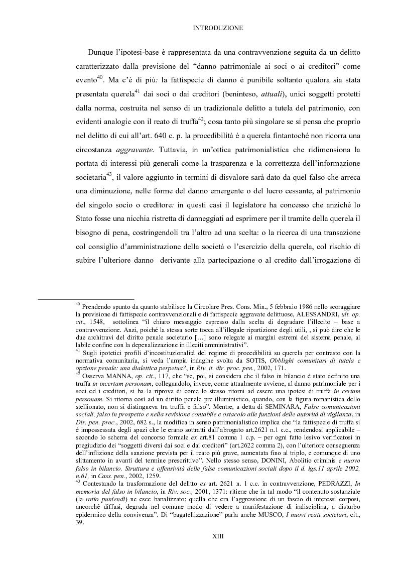 Anteprima della tesi: Il falso in bilancio, Pagina 13