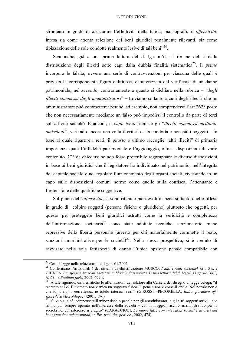 Anteprima della tesi: Il falso in bilancio, Pagina 8