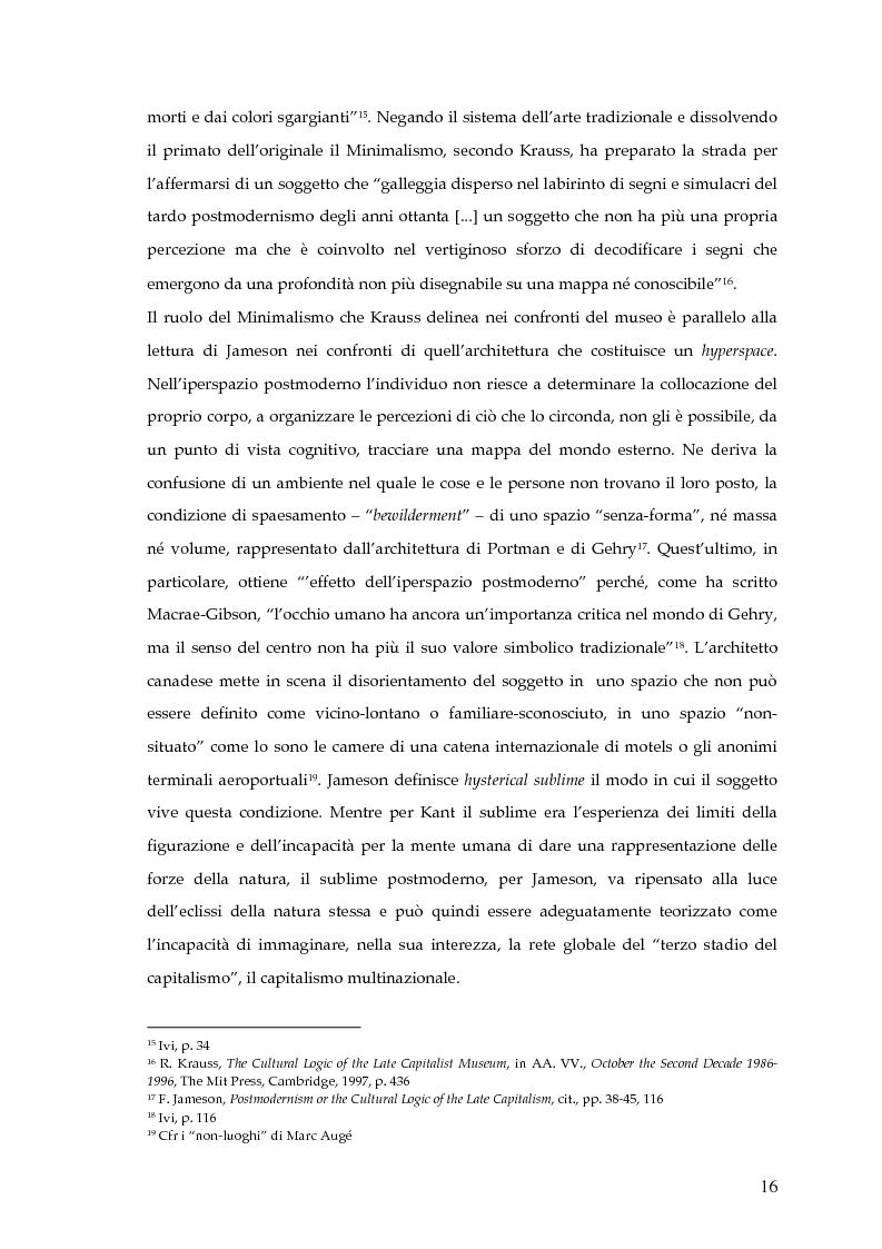 Anteprima della tesi: Il museo postmoderno tra filosofia e pratica culturale, Pagina 13