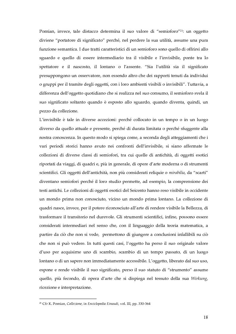 Anteprima della tesi: Il museo postmoderno tra filosofia e pratica culturale, Pagina 15