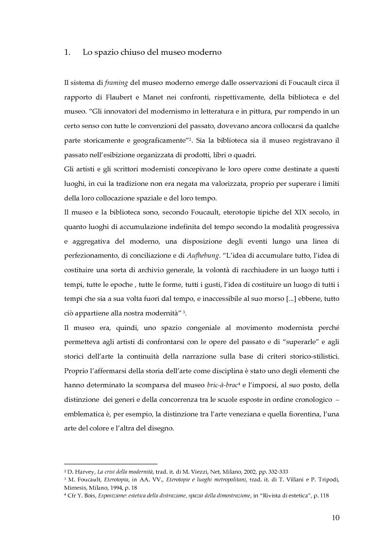 Anteprima della tesi: Il museo postmoderno tra filosofia e pratica culturale, Pagina 7