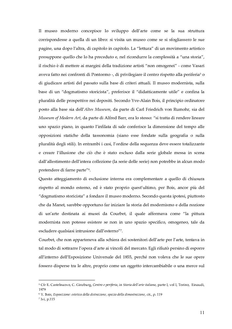 Anteprima della tesi: Il museo postmoderno tra filosofia e pratica culturale, Pagina 8