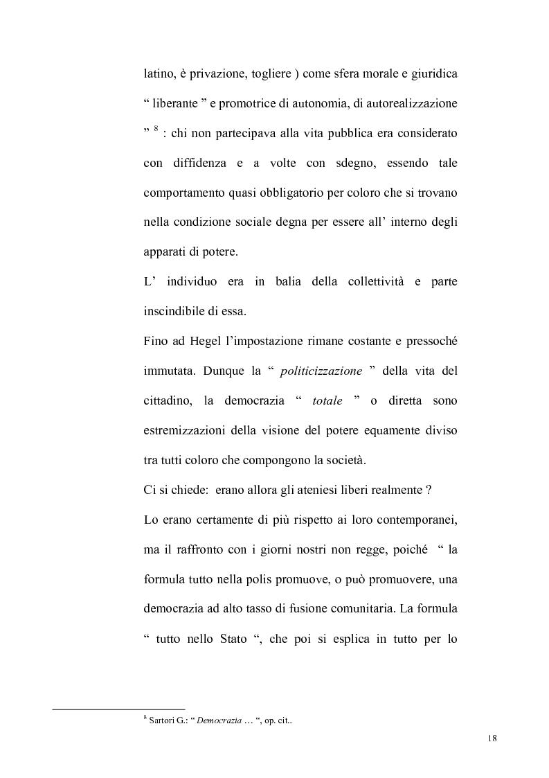 Anteprima della tesi: Democrazia partecipativa e attività giurisdizionale: il controllo dell'opinione pubblica sull'attività giudiziaria, Pagina 12