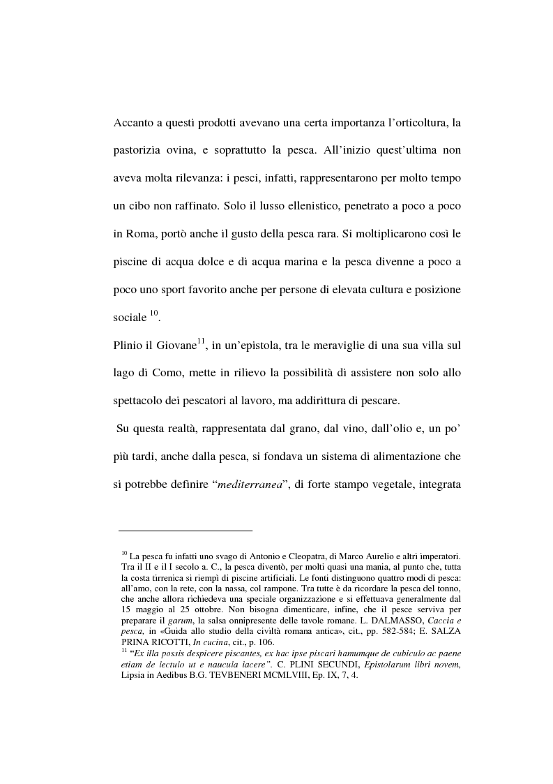 Anteprima della tesi: Mangiare e bere nel Medioevo: valenza sociale, economica, culturale e religiosa del cibo anche attraverso i ricettari, Pagina 10