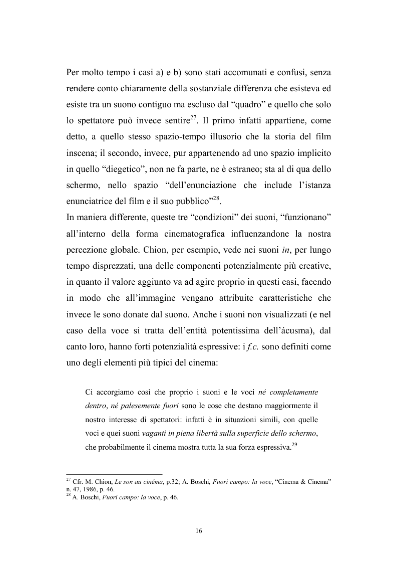 Anteprima della tesi: L'interazione suono-immagine nel cinema di Nanni Moretti, Pagina 12