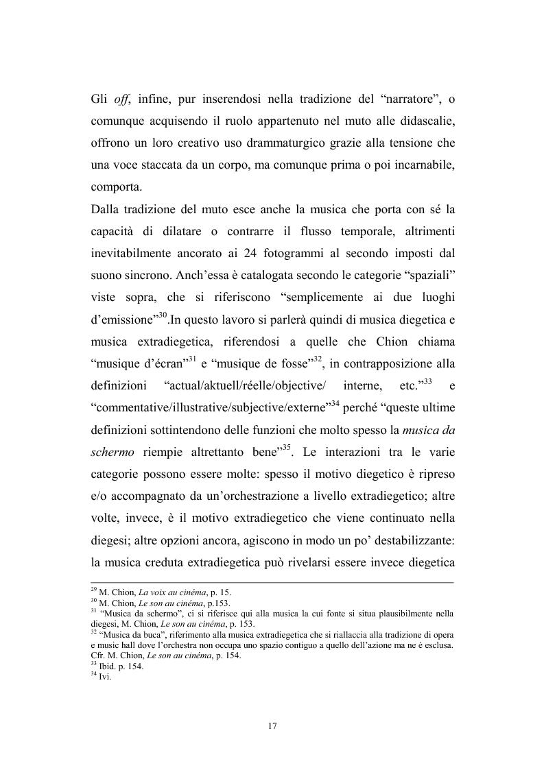 Anteprima della tesi: L'interazione suono-immagine nel cinema di Nanni Moretti, Pagina 13
