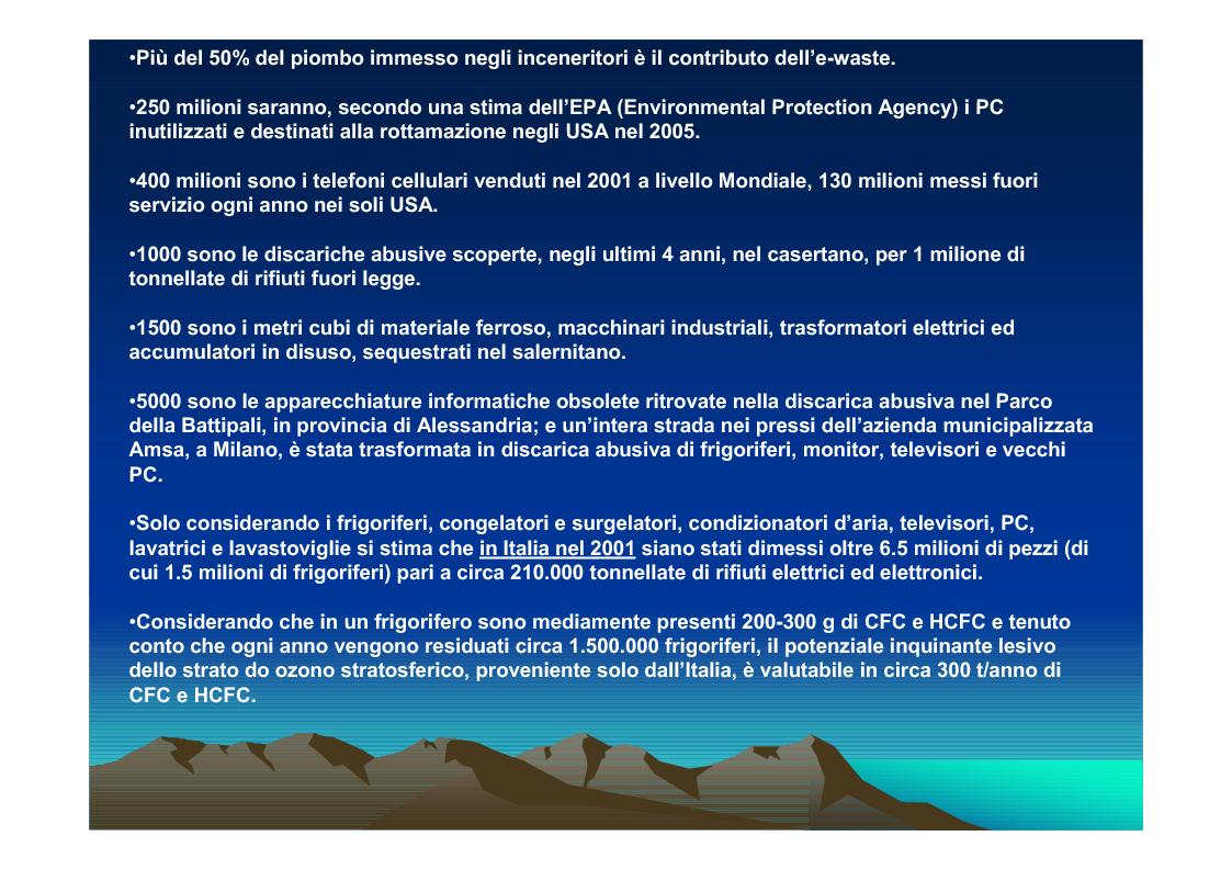 Anteprima della tesi: Il trattamento dei rifiuti da apparecchiature elettriche ed elettroniche (RAEE) verso una piattaforma ecologica, Pagina 10